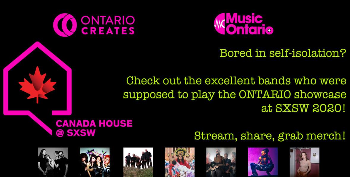 Austin Events March 2020.Ontario Sxsw 2020 Events Musicontario