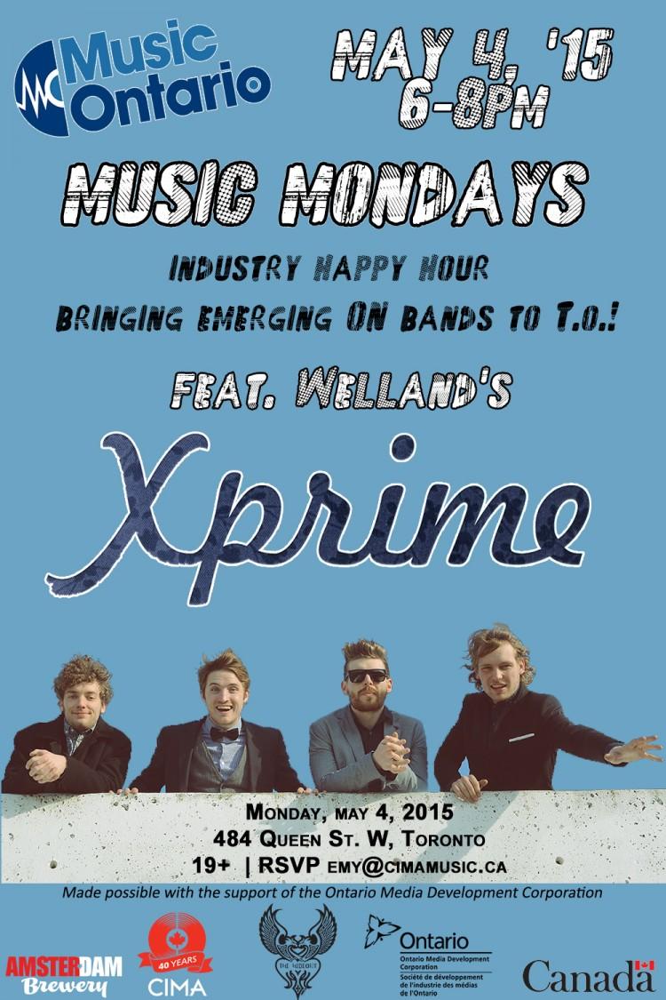 Music Mondays May 4 Poster